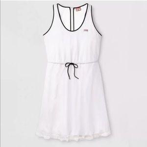 NWTs HUNTER x TARGET • White Mesh A-Line Dress